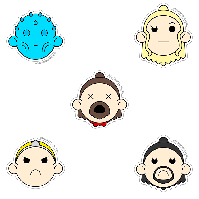Game of Thrones Stikers